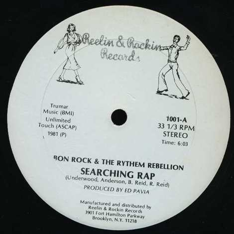 RON ROCK & THE RYHEM REBELLION/SEARCHING RAP