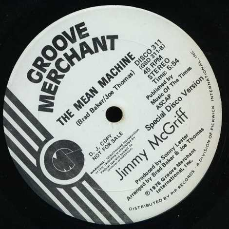 JIMMY MCGRIFF/THE MEAN MACHINE