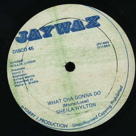 SHEILA HYLTON/WHAT CHA GONNA DO