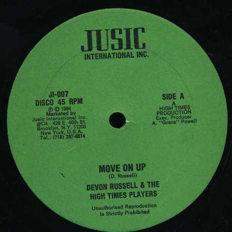 DEVON RUSSELL & THE HIGH TIMES PLAYERS/MOVE ON UP