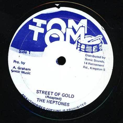 THE HEPTONES/STREET OF GOLD