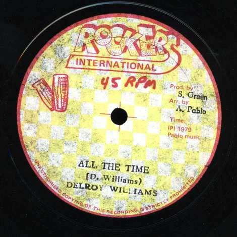 DELROY WILLIAMS/ALL THE TIME