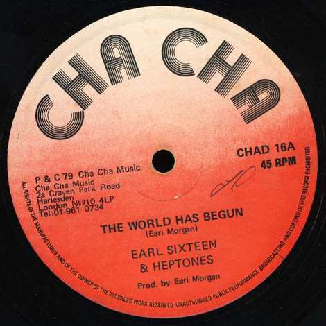 EARL SIXTEEN & HEPTONES/THE WORLD HAS BEGUN