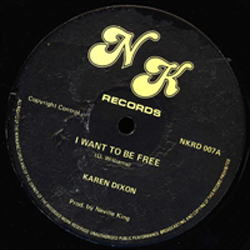 KAREN DIXON / I WANT TO BE FREE